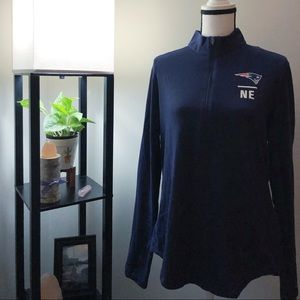 Under Armour Patriots Navy Blue Long Sleeve Shirt